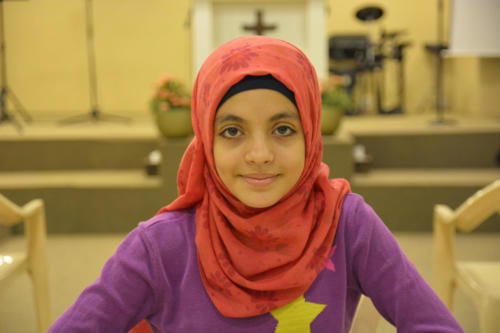 Bayan- 12 She's a very studious young girl, kind hearted.