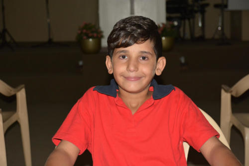Hadi- 11 He is a very high achiever and very smart.