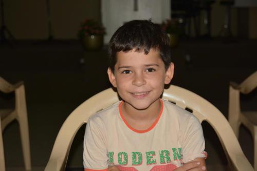 Tarek -9 He's small but smart, very sharp.