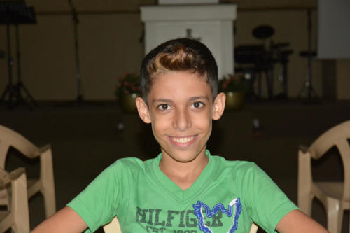 Sleiman - 10 He's a very smart, charismatic young Syrian 5th grader
