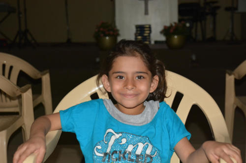 Mariam -7 She comes from a troubled home but is so full of smiles!