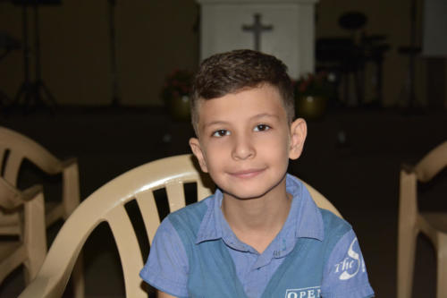 Mouamen is a very kind, quiet, smart, 7 year old Syrian boy in 1st grade.