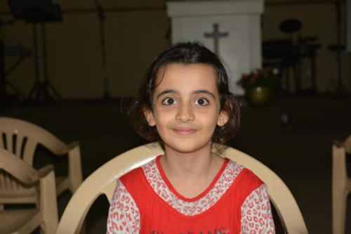Rayan  is a 7 year old, very intelligent young girl in the 1st grade.  She comes from a family of 8.