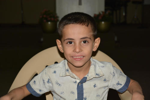 Hamoud is 6yrs. old from Syria