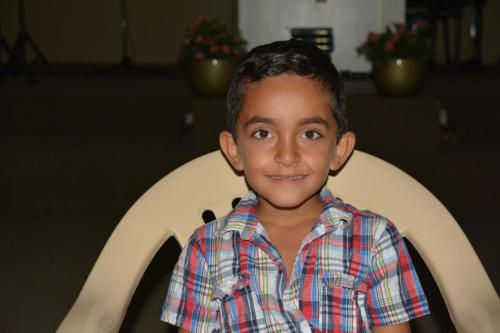 Dolovon - He's 6 years old He and his family escaped the war in Syria to find refuge in Lebanon