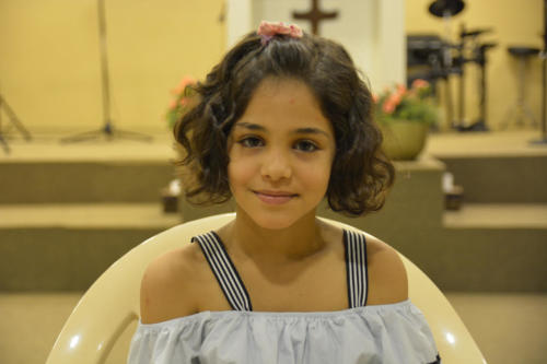 Bayan - 7 She's 1 of 5 children, 3 with hearing impaired, Bayan included - (3 girls are also diabetic)