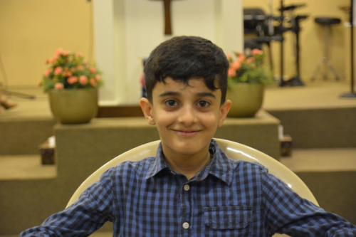 Abed - 7 He's super cute smile hides much mischief :) -very smart.