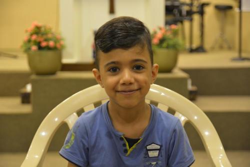 Malek - 8 He's 1 of 3 brothers. Super sweet, super smart.
