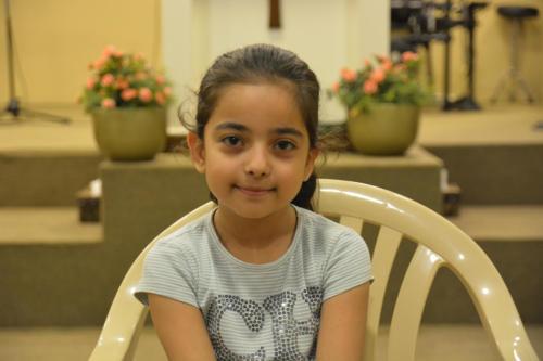 Hamrin - 8 She has 1 sister in school.Genuinely kind & loving, very smart.
