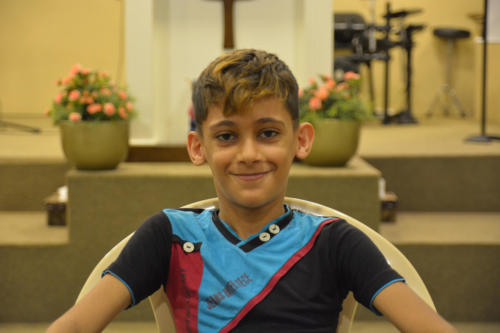 Rabih - 8 He's 3rd boy of 4 boys. Very clever & cute.